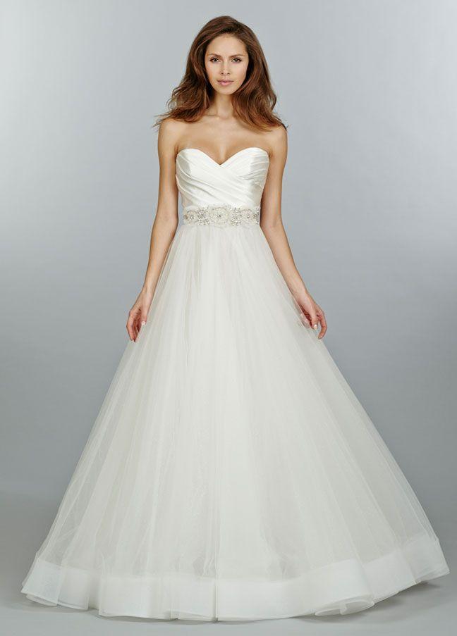 Tulle Wedding Dress with Sweetheart Neckline