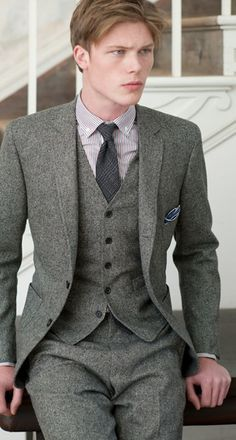 Find This Pin And More On Wedding Ideas Love Tweed Suit