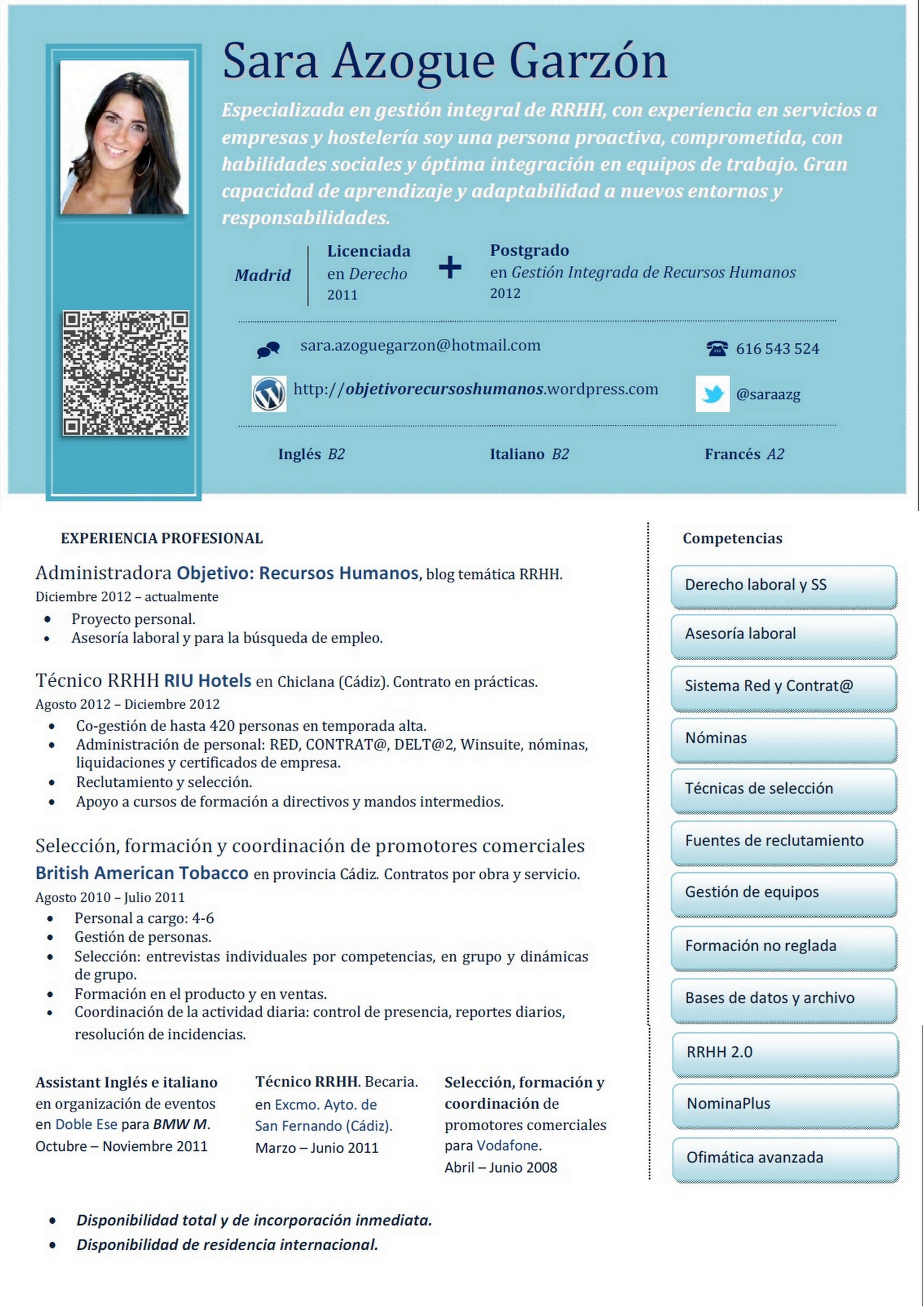Modelo De Curriculum Vitae Por Competencias Modelo De Curriculum Vitae Modelos De Curriculum Vitae Curriculum Vitae Tipos De Curriculum