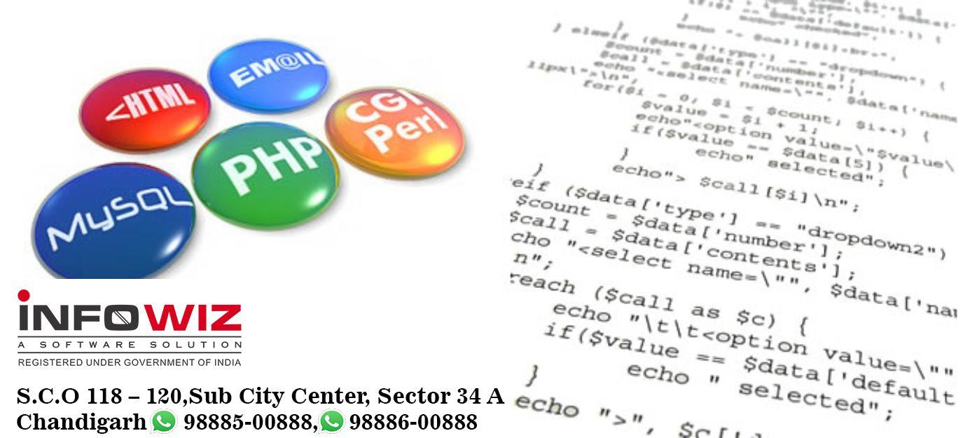 Php training in chandigarh for freshers Web development