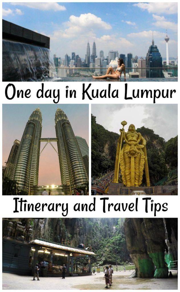 Asia One day in Kuala Lumpur Itinerary