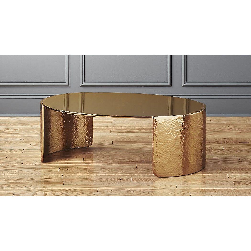 Cuffgoldhammeredcoffeetblshf17 16x9 Coffee Table Gold Coffee Table Modern Coffee Tables [ 1050 x 1050 Pixel ]