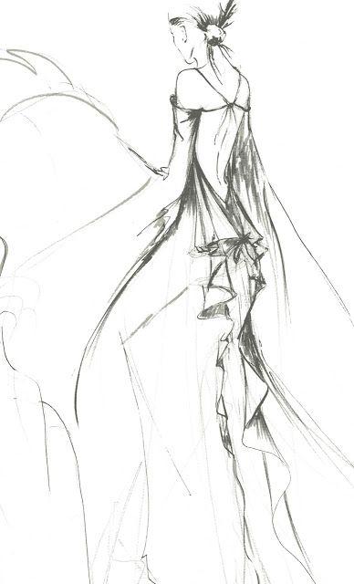 Épinglé sur fashion illustration 5