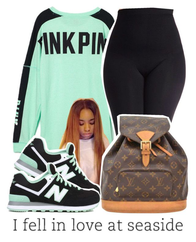 1b16f8376a9 by fyemaree ❤ liked on Polyvore featuring Victoria s Secret PINK