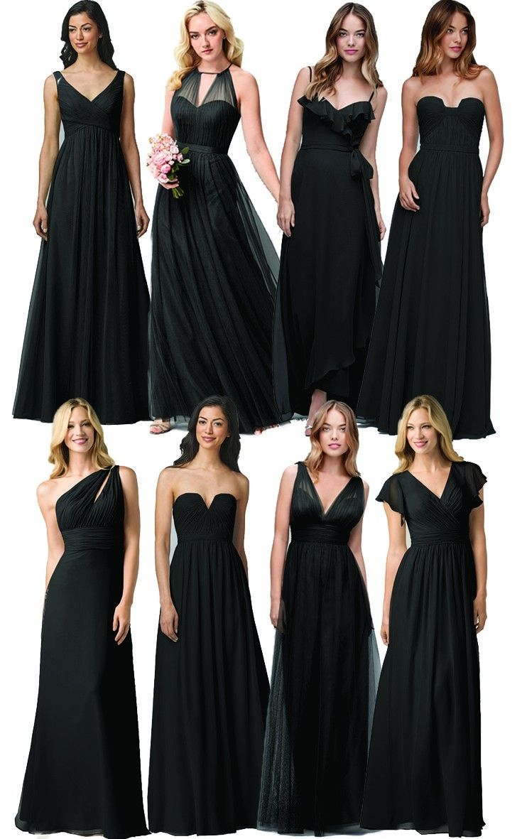 25 best ideas about black bridesmaid dresses on pinterest black 25 best ideas about black bridesmaid dresses on pinterest black ombrellifo Image collections