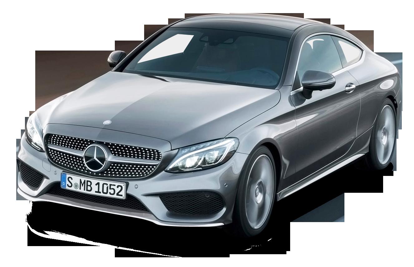 Grey Mercedes Benz C Class Coupe Car Png Image Benz C Mercedes Benz Benz