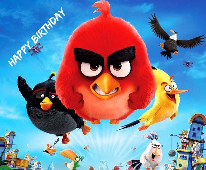Angry Birds Movie Birthday Bird Wallpaper Angry Birds Angry Birds Movie