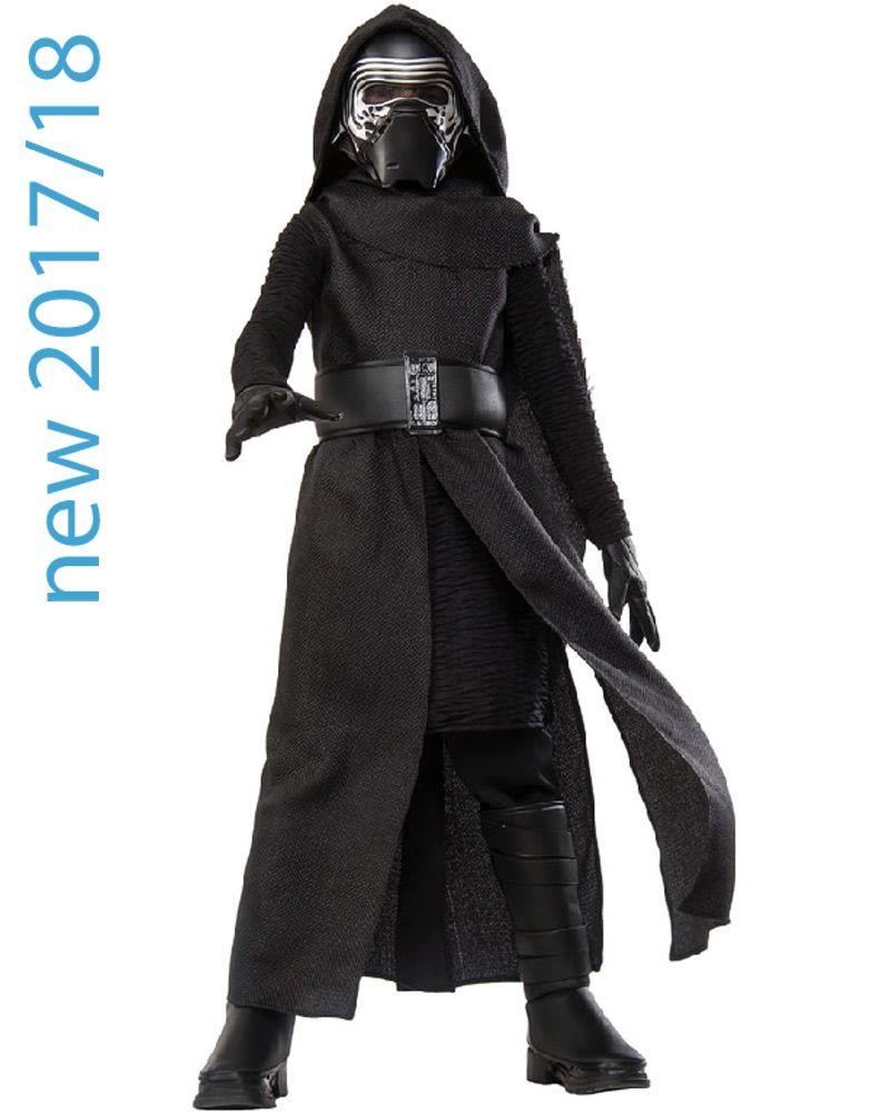 Child Kylo Ren Gloves Boys Girls Star Wars Fancy Dress Costume Accessory