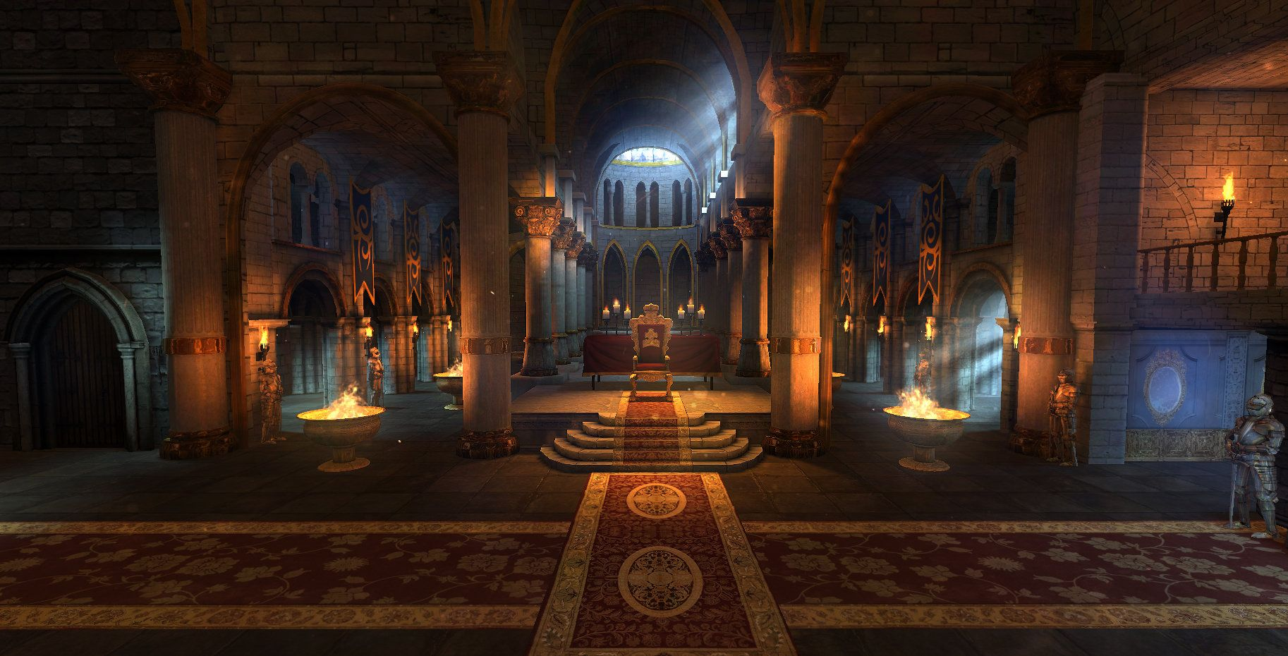 Image Result For Throne Room Fantasy Concept Art