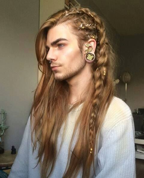 Male Elf Hairstyles Hair