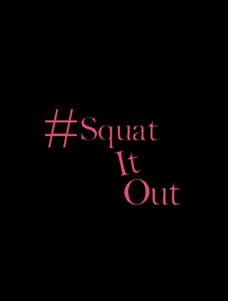 Squat It Out Work Out Tank