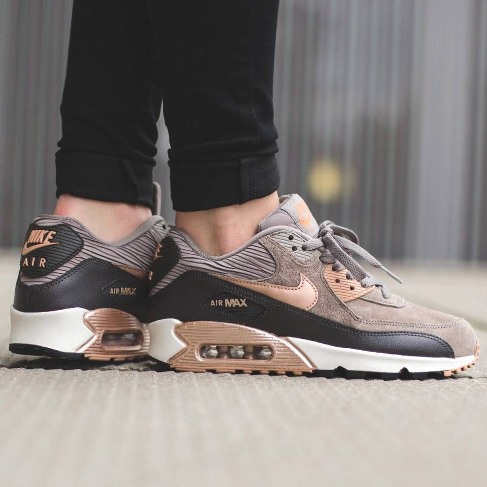 quality design 4fab4 0be62 ... R 332,91 Nike Air Max 90 Leather in Iron Metallic and Red Bronze ...