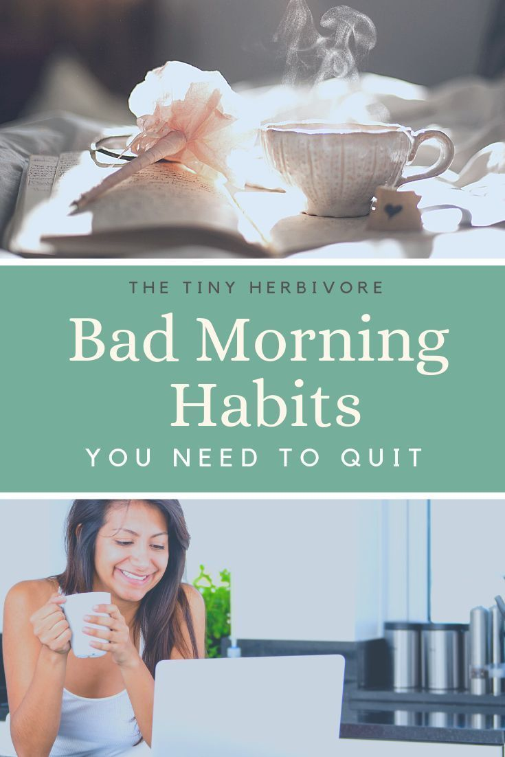 5 Bad Morning Habits That You Need To Quit | Morning ...