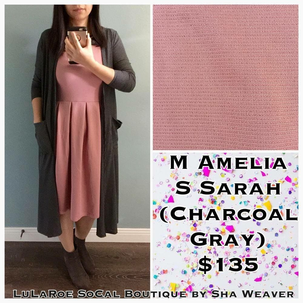 LuLaRoe Amelia and Sarah make an amazing outfit! See and buy outfits like this here: https://www.facebook.com/groups/LuLaRoeSoCal/