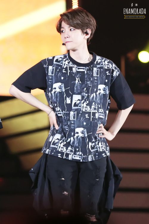 Baekhyun - 150523 I Love You Korea 2015 Dream Concert Credit: Quadruple. (사랑한다 대한민국 2015 드림콘서트)