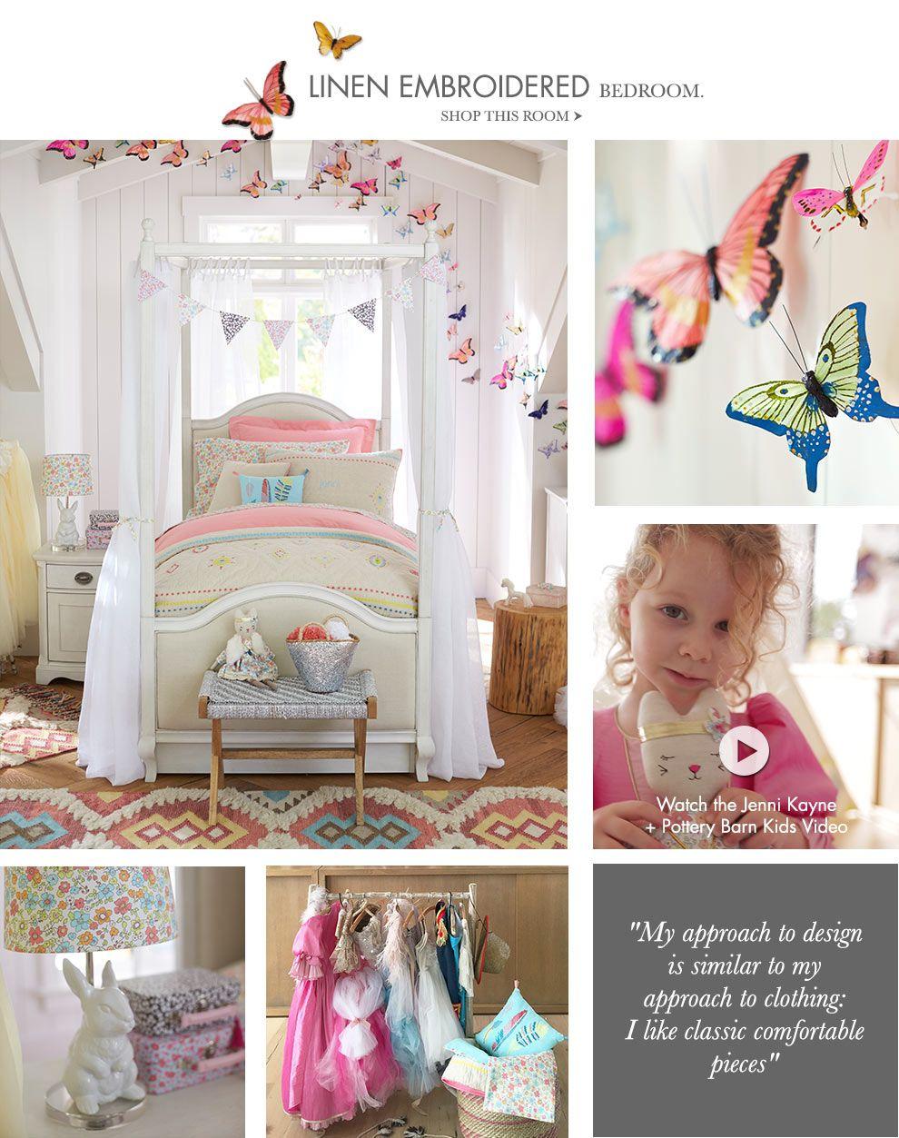 Jenni Kayne Pottery Barn Kids Big Girl Rooms Girl