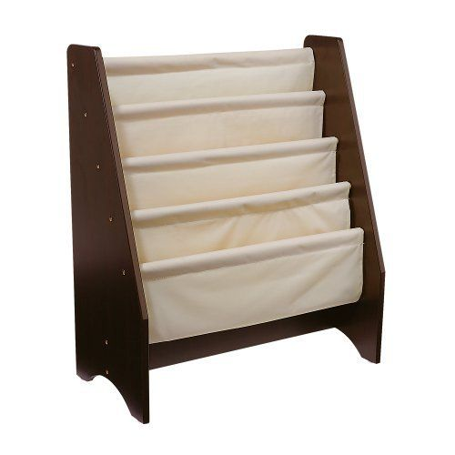One Step Ahead Kids My First Sling Bookshelf Espresso By