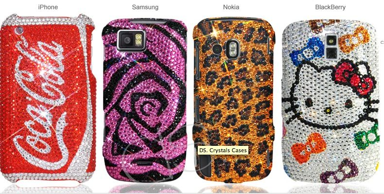 4 kinds of different phone cases