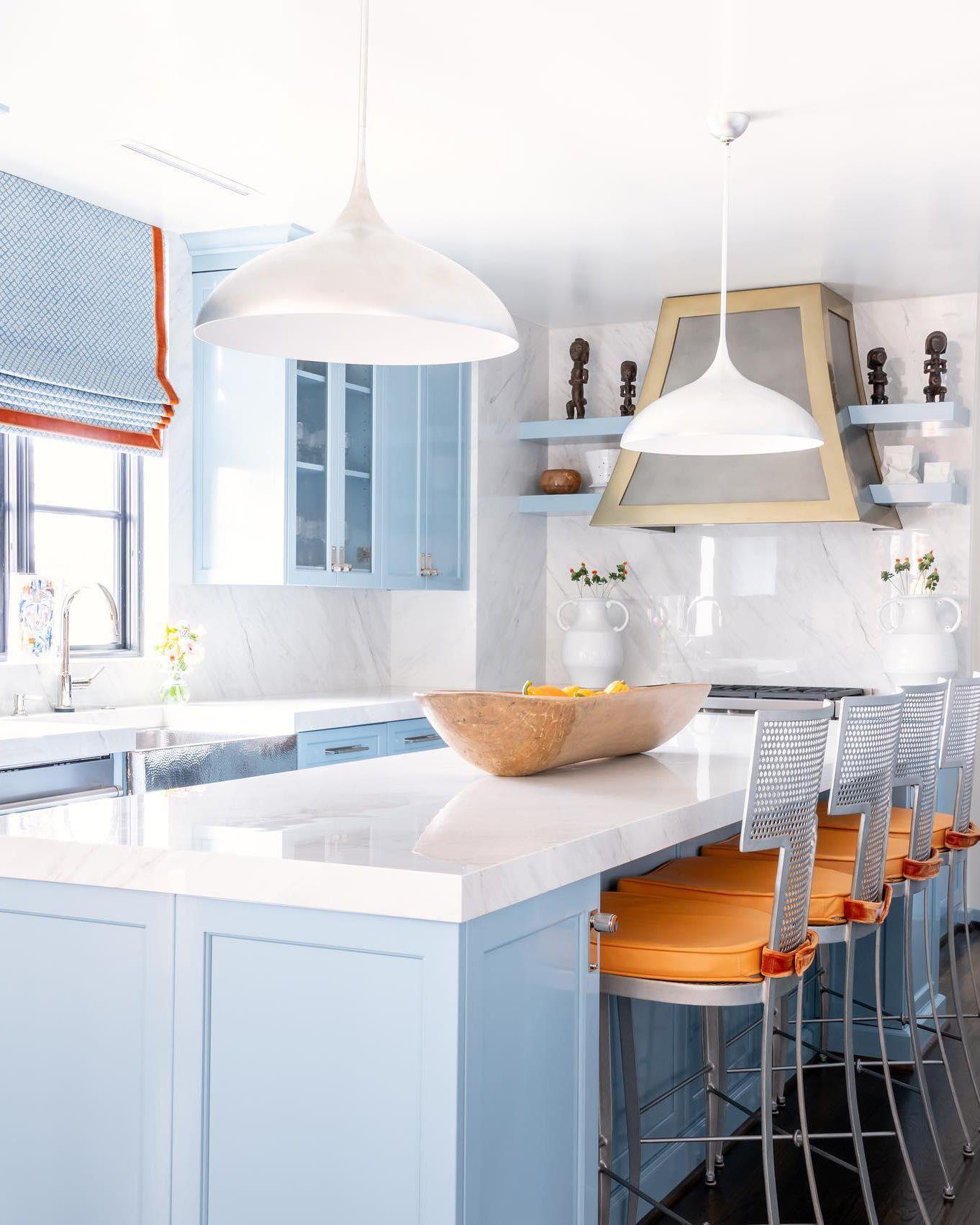 Blue And White Kitchen Inspiration White Kitchen Inspiration Kitchen Decor Kitchen Inspirations