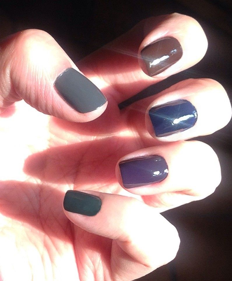 Color Club Artsy Crafty + Bissú Glamour + Fing\'rs + Maybelline Cocoa ...