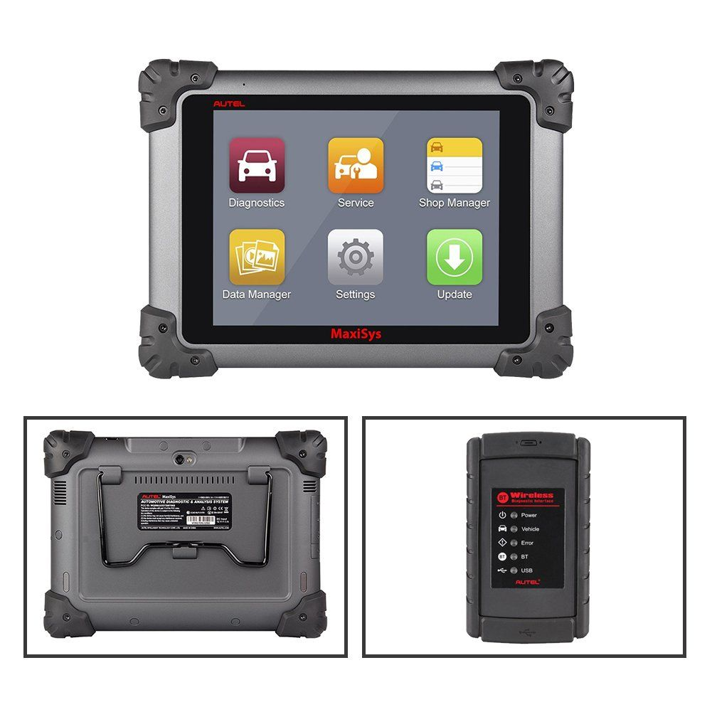 Autel Maxisys MS908 Automotive Diagnostic Scanner Tool and