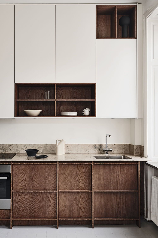 Modern Kitchens In Scandinavian Design Nordiska Kok I 2020 Koksdesign Minimalistiskt Kok Billig Heminredning