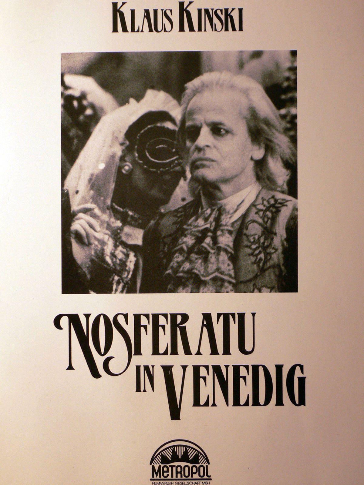 'Nosferatu a Venezia' (1988); regia: Augusto Caminito, Luigi Cozzi. Titolo tedesco: 'Nosferatu in Venedig'