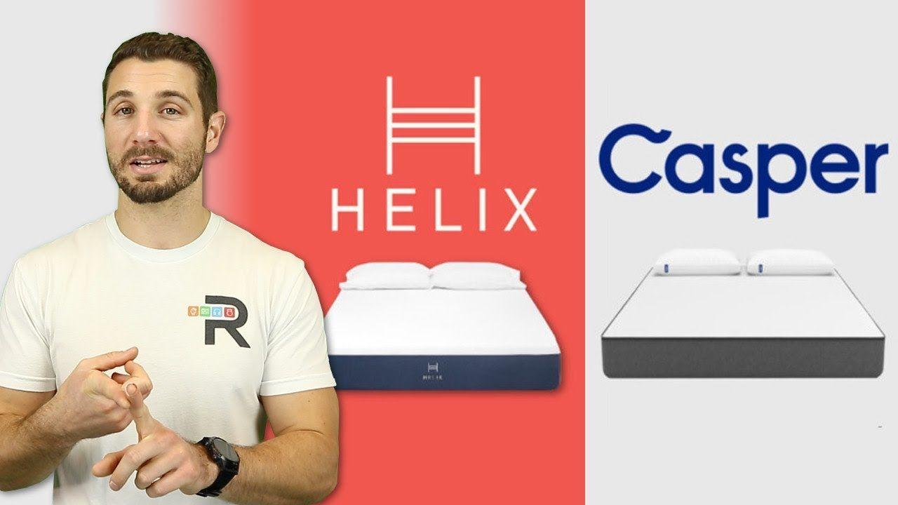 Helix Vs Casper Mattress Review Comparison Best Bed In A Box Casper Mattress Reviews Mattresses Reviews Box Bed