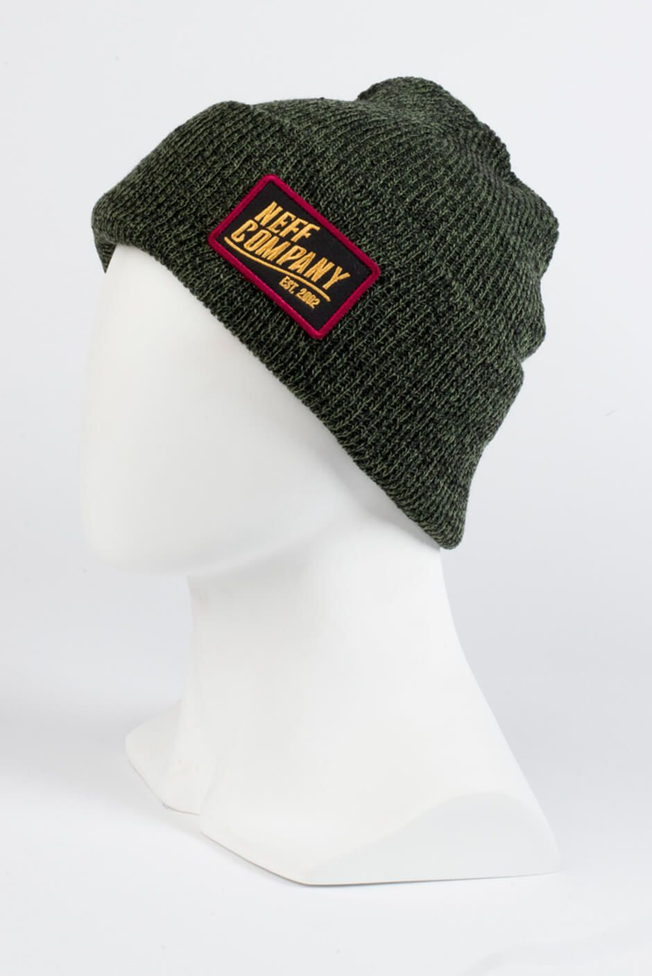 f83cf86b80917 Fan of the station cap  Well here it is in beanie form! Heathered fold  beanie with embroidered patch from Station 2 cap. 100% Acrylic.