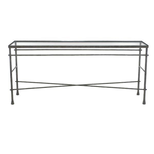 bernhardt pollard glass console table products rh pinterest ca