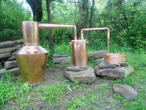 5 Gallon Copper Whiskey Moonshine Still Moonshine Stills