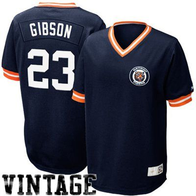 33457b901c1 Nike Kirk Gibson Detroit Tigers Cooperstown Classic Throwback Jersey - Navy  Blue  Fanatics