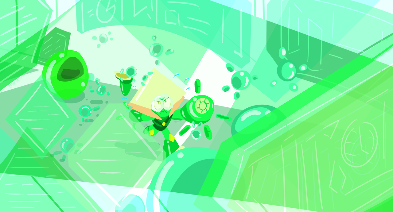 Connie And Peridot Desktop Wallpapers Steven Universe Universe Desktop Wallpaper