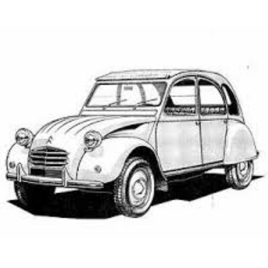 citroen 2cv   1948
