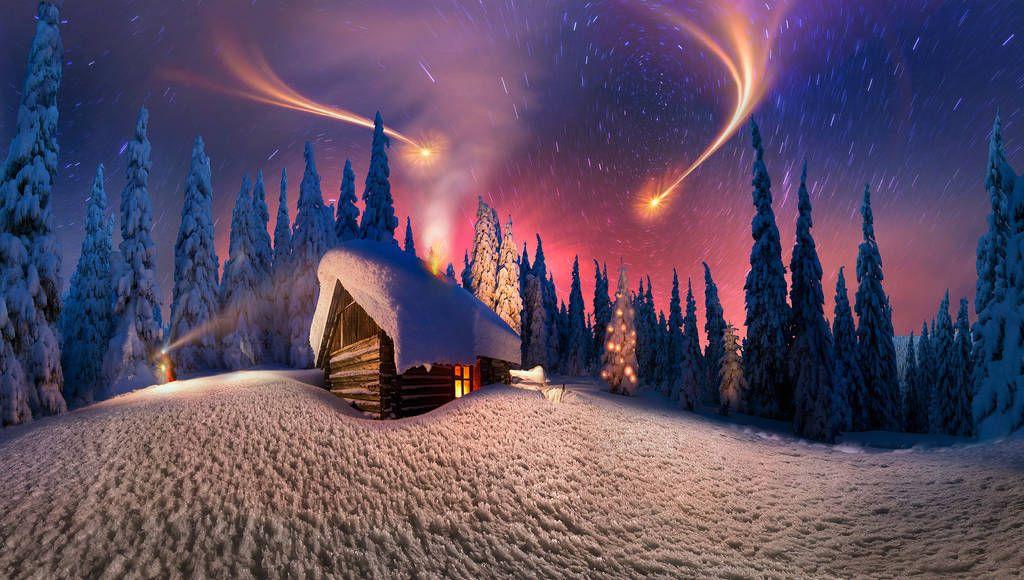 фантастические фото зимы и нового года число входят