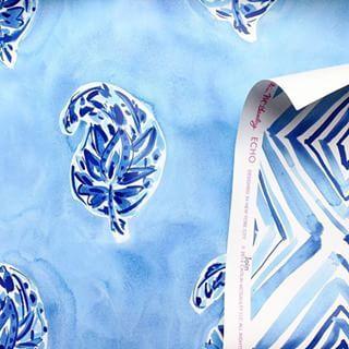 Watercolor wallpaper. \\\ Image via: @verryrobin. #Designer: @caitlinmcgauley . #decor #decorate #decorating #design #designinspo #designideas #dekor #decoração #homedecor #homedesign #homeideas #inspo #instahome #instadecor #instadesign #interiordesign #