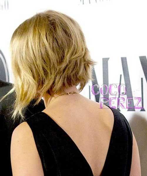 Scarlett Johansson Bob Back View Hair Beauty Hair Styles Bob