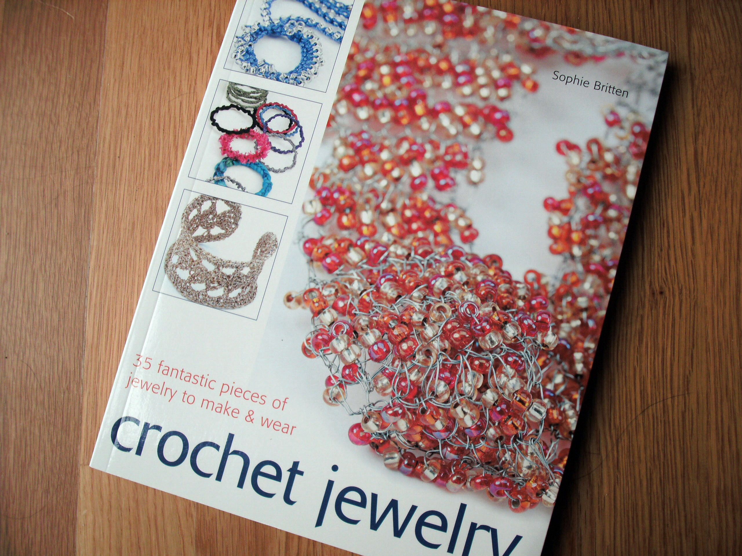 Book for wire crochet