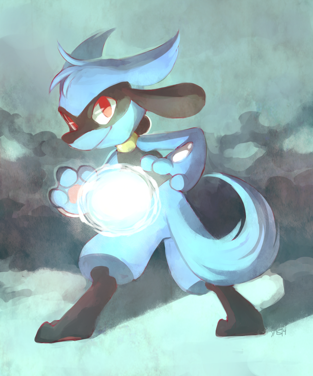 When does riolu learn aura sphere - answers.com