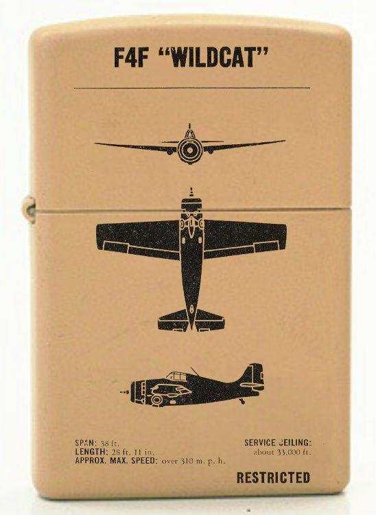Wwii Aircraft Recognition Custom Zippo Design Vintage Aircraft Wwii Aircraft Vintage Airplanes