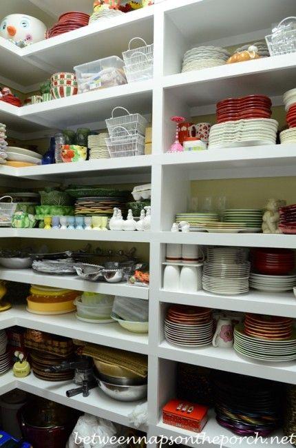 dish storage a serious case of pantry envy dish storage kitchen organization butler pantry on kitchen organization dishes id=83018