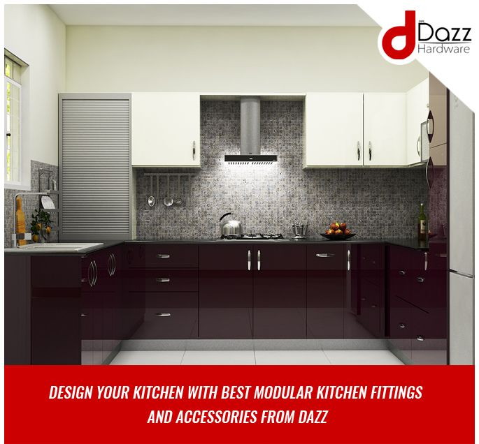 modular kitchen hardware fittings. Design your kitchen with best Modular Kitchen Fittings And Accessories from  Dazz