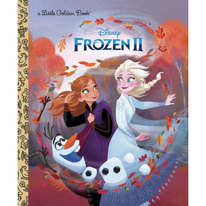 Frozen 2 Little Golden Book By Nancy Cote : Target
