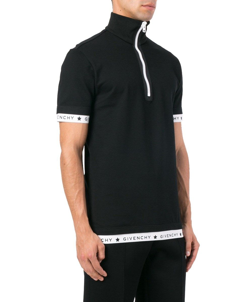 3a3feacb Givenchy Givenchy Men's Black Cotton Polo Shirt | Get | Givenchy ...