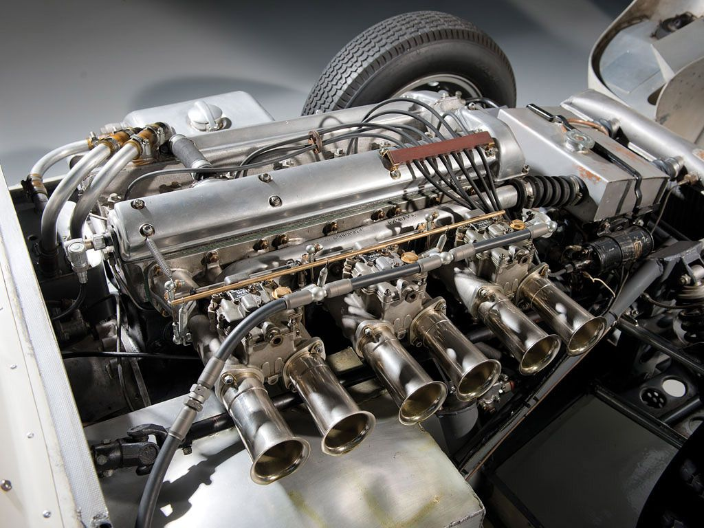 1958 Lister Jaguar Knobbly Prototype Engine