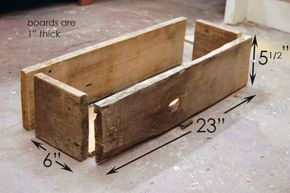 How to build a simple planter box.The perfect Easter centrepiece for $20.