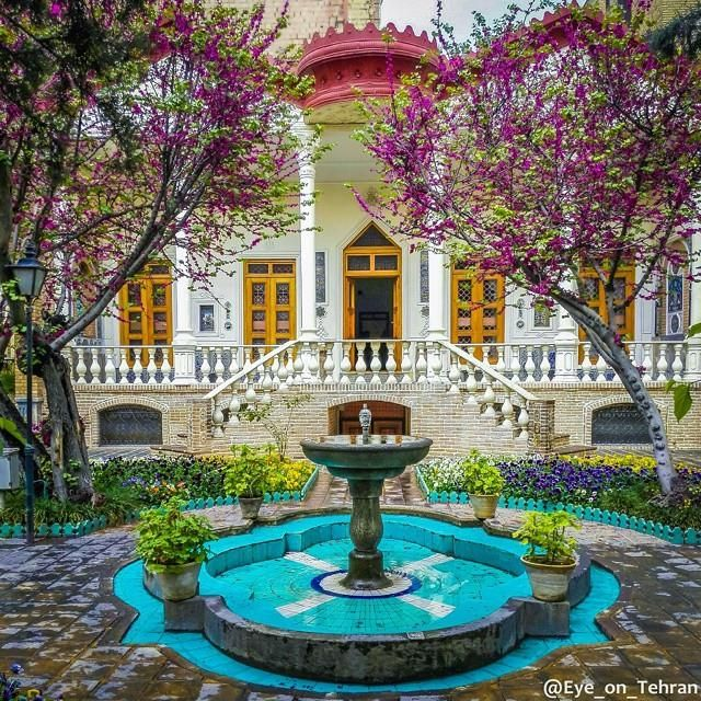 Historic Moghadam Museum in Tehran, Iran #irantravelingcenter #traveltoiran http://www.irantravelingcenter.com/visa-iran-visa/