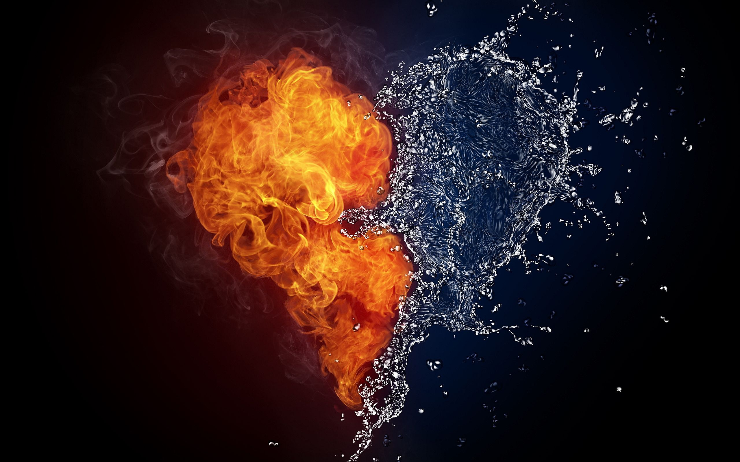 Love Breathes Fire Like The Hottest Flame Burning So Brightly And Leading Sane Ice HeartFire ArtHeart WallpaperHearts