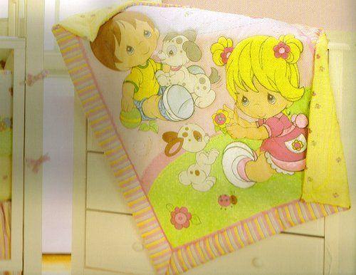 Precious Moments 4pc Crib Nursery Bedding Set By Baby Boom