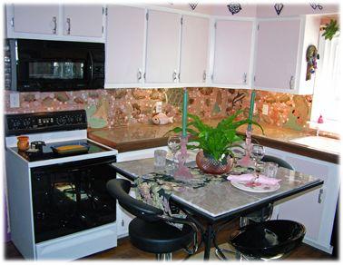 Decorative Ceramic Tiles Kitchen Pleasing Tropical Fish Ceramic Tile Kitchen Backsplash Mermaid Ceramic Inspiration